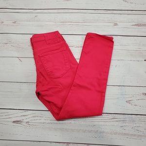 Big Star 1974 Pink Skinny Jeans Size 26
